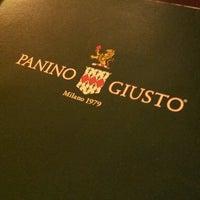 Photo taken at Panino Giusto by Alberto B. on 7/20/2013