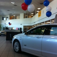 Photo taken at Future Ford Lincoln of Concord by Dmitry G. on 10/19/2013