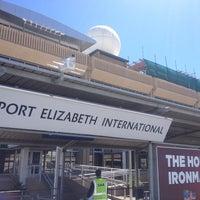 Photo taken at Port Elizabeth International Airport (PLZ) by Anna Karla S. on 10/19/2013