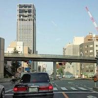 Photo taken at 鷹野橋交差点 by Hidenobu K. on 10/9/2015