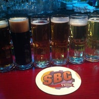 Photo taken at SBC Restaurant & Brewery by Rebecca S. on 12/18/2012