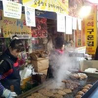 Photo taken at Gangneung Central Market by Won-kyu K. on 1/19/2013
