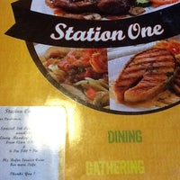 Photo taken at Station 1 Café by Aileen H. on 9/28/2012