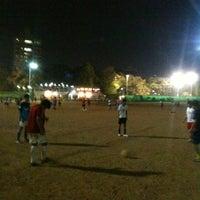 Photo taken at Shivaji Park by Bhushan R. on 3/24/2013