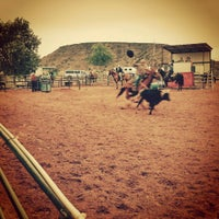 Photo taken at Stables at Tamaya by Andy B. on 7/10/2015