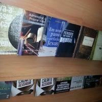 Photo taken at Livraria e Cyber Café Espaço da Fé by Sergio S. on 10/23/2013