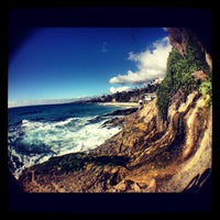 Photo taken at Thousand Steps Beach by Ramy R. on 10/21/2012