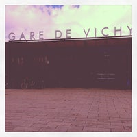 Photo taken at Gare SNCF de Vichy by Bertrand S. on 10/10/2012