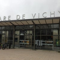 Photo taken at Gare SNCF de Vichy by Bertrand S. on 11/28/2012