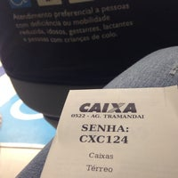 Photo taken at Caixa Econômica Federal by Riane P. on 4/25/2014