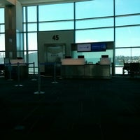 Photo taken at Gate 45 by Foivos G. on 8/13/2014