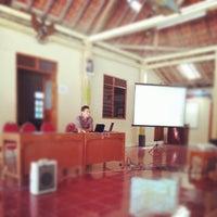 Photo taken at Balai Desa Ponjong by Nurudin J. on 11/2/2012