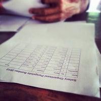 Photo taken at Balai Desa Ponjong by Nurudin J. on 12/3/2012