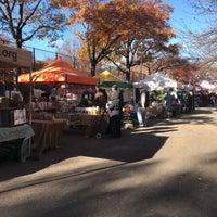 Photo taken at Jackson Heights Greenmarket by Beili . on 11/26/2017