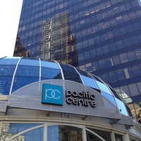 Photo taken at CF Pacific Centre by Bob D. on 5/5/2013