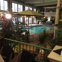 Photo taken at Bel-Aire Clarion Hotel by Connie B. on 10/18/2014