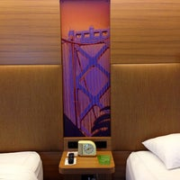Photo taken at Aloft San Francisco Airport by CRATEinteriors on 10/23/2013