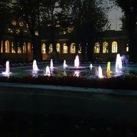 Photo taken at Bezmialem Vakıf Üniversitesi Havuzlu Bahçe by Nurcan Ç. on 11/10/2015