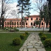 Photo taken at Bezmialem Vakıf Üniversitesi Havuzlu Bahçe by Nurcan Ç. on 3/16/2015