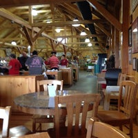 Photo taken at Mann Orchards Farm Store & Bakery by Edward F. on 7/30/2014