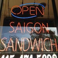 Photo taken at Saigon Sandwich by Gelo B. on 2/23/2013