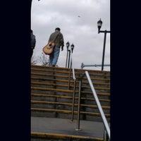 Photo taken at NJT - West Side Avenue Light Rail Station by Decibel P. on 1/1/2016