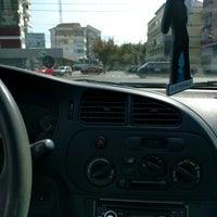 Photo taken at Bulevardul Decebal by Mircea D. on 9/15/2016