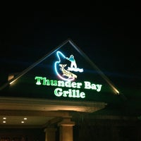 Photo taken at Thunder Bay Grille by Jason T. on 3/22/2013