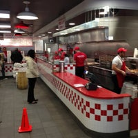Photo taken at Five Guys by Jason T. on 4/23/2013