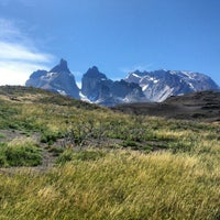 Photo taken at Parque Nacional Torres del Paine by Victor V. on 2/5/2013