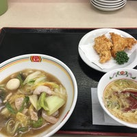 Photo taken at 餃子の王将 大東諸福店 by caprin on 12/12/2017