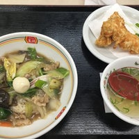 Photo taken at 餃子の王将 大東諸福店 by caprin on 1/26/2018