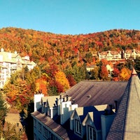 Photo taken at Mont Tremblant by Vicky K. on 9/27/2014