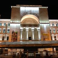 Photo taken at Teatrul Național Timișoara by Mesut Ali Ö. on 6/28/2017