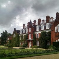 Photo taken at Newnham College by Alfonso M. on 8/20/2016