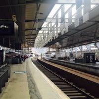 Photo taken at Estação Ferroviária de Entrecampos by Anton B. on 5/23/2016