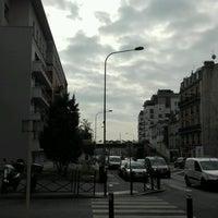 Photo taken at Pont de Courbevoie by Sarai V. on 10/13/2016
