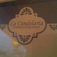 Photo taken at La candelaria tamales xiqueños by Luis Enrique G. on 9/30/2012