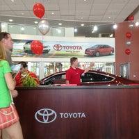 Photo taken at Alamo Toyota by Steve N. on 8/10/2013