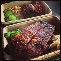 Photo taken at Mighty Quinn's BBQ by Dan F. on 7/13/2013