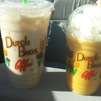 Photo taken at Dutch Bros. Coffee by Theresa G. on 10/19/2013