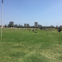 Photo taken at Sporting Rugby Club by Chris M. on 3/7/2015