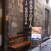 Photo taken at Trattoria La Grotta by Kate T. on 2/7/2015