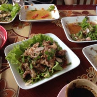Photo taken at ร้านนายยก by BookBig A. on 3/27/2015