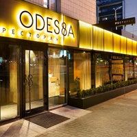 Снимок сделан в Ресторан ODESSA пользователем Ресторан ODESSA 2/10/2015