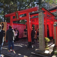 Photo taken at 三光稲荷神社 by tricot on 1/14/2018