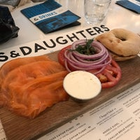 Photo taken at Russ & Daughters Café by armand g. on 4/7/2017