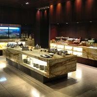 Photo taken at SIA SilverKris Lounge (Terminal 3) by Nick B. on 4/24/2013