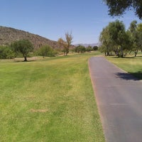 Photo taken at Tres Rios Golf Course at Estrella Mountain Park by Derek J. on 6/21/2014