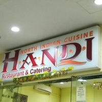 Photo taken at Handi North Indian Restaurant by Shahzad M. on 7/18/2015